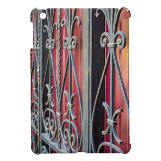 Detail of an old iron fence iPad mini cover