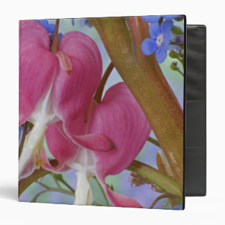 Detail of bleeding hearts and Brunnera Jack 3 Ring Binders