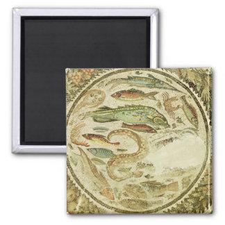 Detail of fish, The Four Seasons, from Vega Baja Magnet