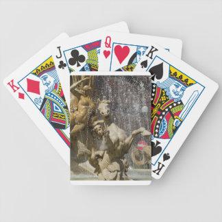 Detail of Fontana d'Artemide, Ortigia Bicycle Playing Cards