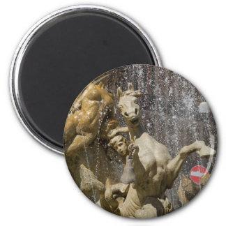 Detail of Fontana d'Artemide, Ortigia Magnet