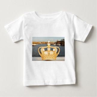 Detail of golden crown bridge in Stockholm, Sweden Baby T-Shirt