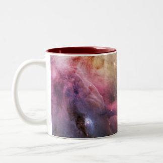 Detail of Orion Nebula Two-Tone Coffee Mug