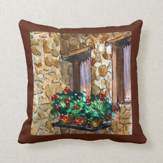 DETAIL OF PORTUGAL THROW PILLOW