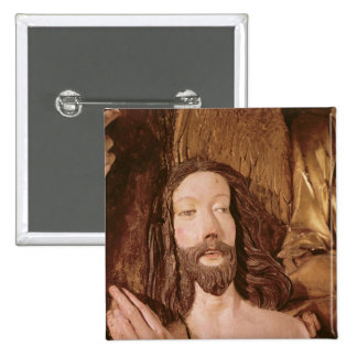 Detail of the Baptism of Christ 2 Inch Square Button