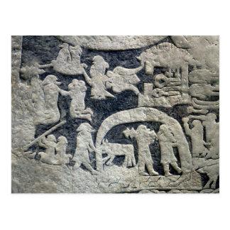 Detail of the legend of Valhalla Postcard