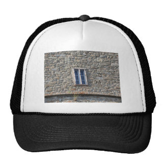 Detail of the medieval sanctuary facade trucker hat