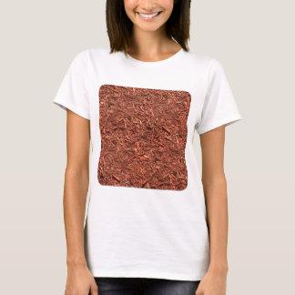 detail pattern of red cedar mulch T-Shirt