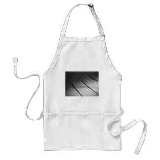 Detail Vinyl Record Music Recording Support Apron