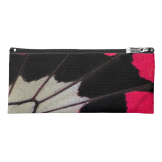 Detail Wing Pattern of Tropical Butterfly Pencil Case