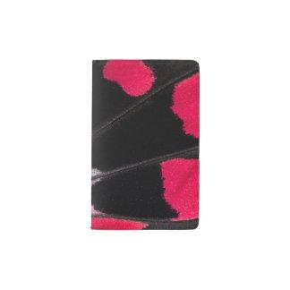 Detail Wing Pattern of Tropical Butterfly Pocket Moleskine Notebook
