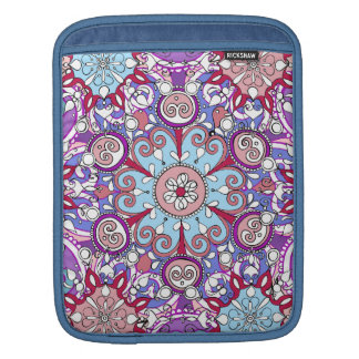 Detailed Abstract Mandala iPad Sleeve