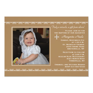 Detailed Borders Photo Invitation
