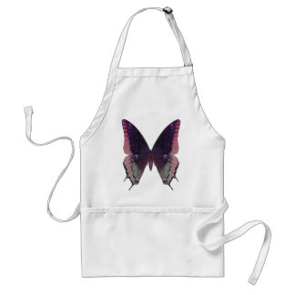 Detailed Butterfly Pink Standard Apron