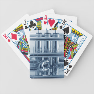 Detailed Cornet Bicycle Playing Cards