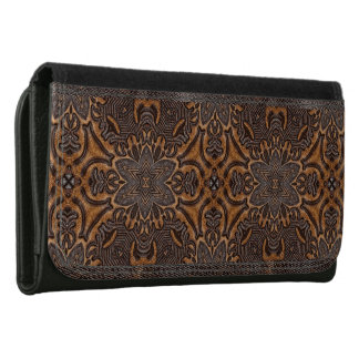 Detailed Design Leather Purse Wallets For Women