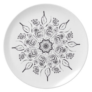 Detailed designed plate