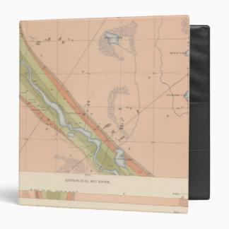 Detailed Geology Sheet X Vinyl Binder