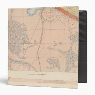 Detailed Geology Sheet XIII Binders