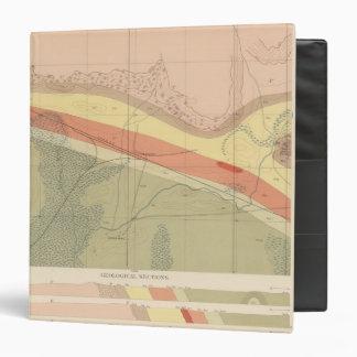 Detailed Geology Sheet XV Vinyl Binder