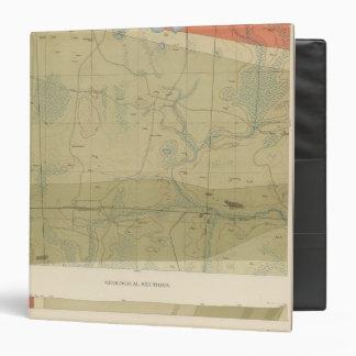 Detailed Geology Sheet XXII Vinyl Binder