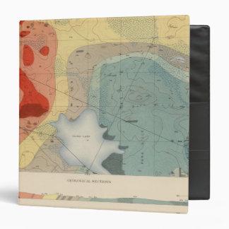 Detailed Geology Sheet XXXIV Binder