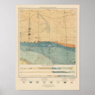 Detailed Geology Sheet XXXVI Poster