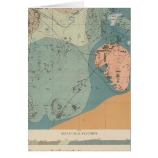 Detailed Geology Sheet XXXVII Card