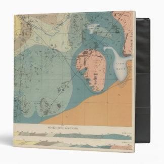 Detailed Geology Sheet XXXVII Vinyl Binders