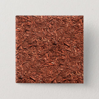 detailed mulch of red cedar for landscaper 2 inch square button