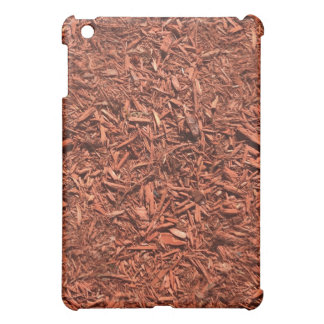 detailed mulch of red cedar for landscaper case for the iPad mini