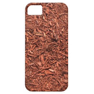 detailed mulch of red cedar for landscaper case for the iPhone 5