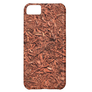 detailed mulch of red cedar for landscaper Case-Mate iPhone case