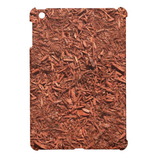 detailed mulch of red cedar for landscaper cover for the iPad mini