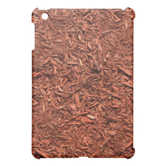 detailed mulch of red cedar for landscaper iPad mini covers