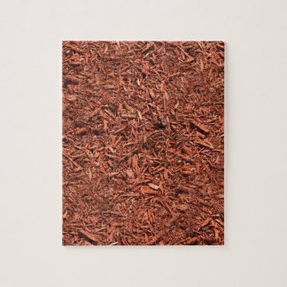 detailed mulch of red cedar for landscaper jigsaw puzzle
