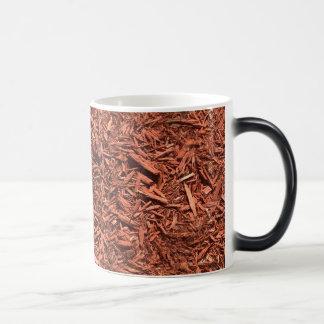 detailed mulch of red cedar for landscaper magic mug