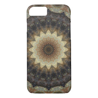 Detailed Pastel Seashells Mandala Kaleidoscope iPhone 8/7 Case
