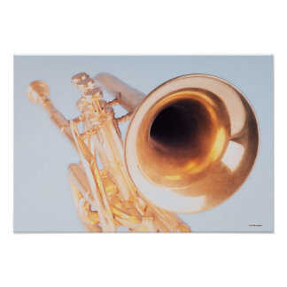 Detailed Trumpet 2 Poster