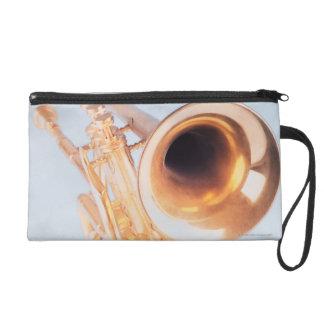 Detailed Trumpet 2 Wristlet Clutch