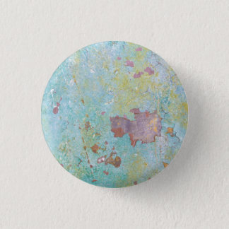 Details of Painted Wall | Fort Hayden, WA 1 Inch Round Button
