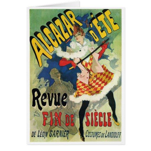 d'Été d'Alcazar - Revue Fin de Siècle, Jules Chére Carte