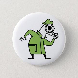 Detective 2 Inch Round Button