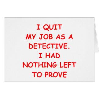détective carte