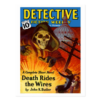 Detective Fiction Weekly Postcard