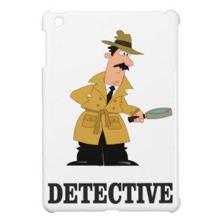 detective man iPad mini cases