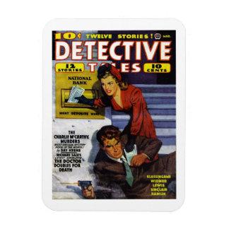 """Detective Tales"" Magnet"