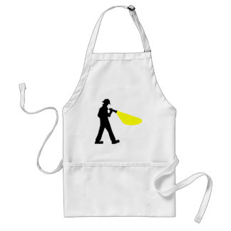 Detective with Flashlight Standard Apron