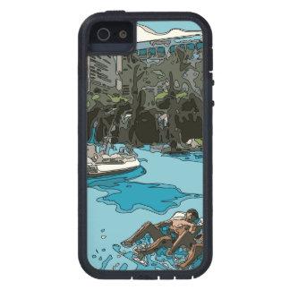 Détente par le côté de piscine à Vegas Coque iPhone 5 Case-Mate