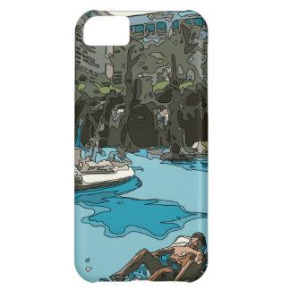 Détente par le côté de piscine à Vegas Coques iPhone 5C